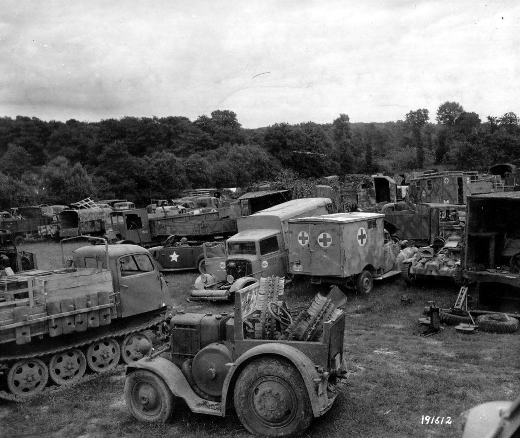 Немецкий военный трактор фото