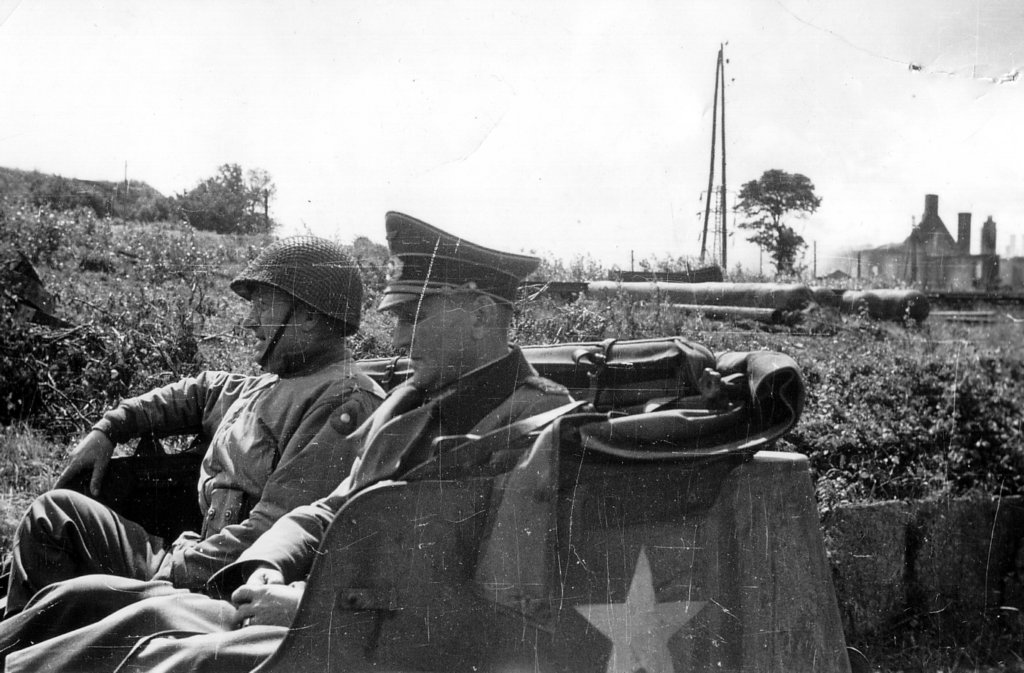 Generalmajor Robert Sattler Shortly After Capture